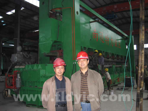 3-Roller Rolling Machine For Ship